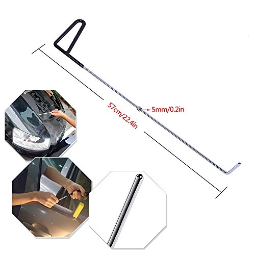 Fly5D PDR Rods Auto Body Paintless Dent Repair Tool for Hail Damage Door Dings Removal (57cm/22.4inch) by Fly5D (Image #2)