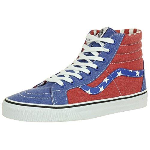 Varebiler Sk8-hi Reissure Sneaker Blå Røde Stjerner Za0fp3 Doren Stjerner Og Striper