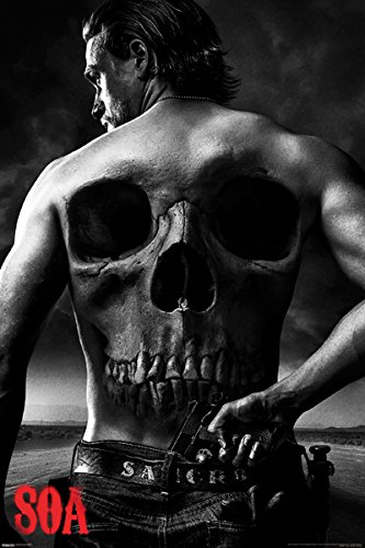 Sons of Anarchy (Jax Back) Poster