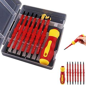 Destornillador magnético 15 1 estuche de reparación de destornilladores: Amazon.es: Bricolaje y herramientas