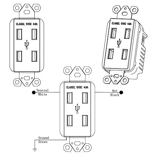 How Do Wire Light Switch Receptacle Same Box 467916 further Sunco Lighting 10 Pack Ul Listed High Speed Usb Port Charger And Duplex Receptacle 15   3 1a Charging Capability T er Resistant Outlet Wall Plate Included in addition 2 Way Switch With Power Feed Via Light besides 186266134563389436 also Wiring Two Switches Two Lights Power Plug Circuit 167957. on wiring two outlets same box