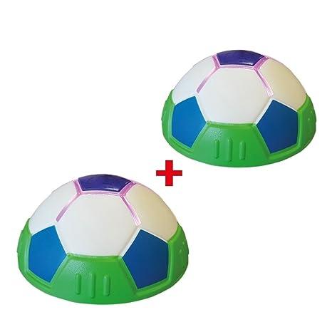 Lighted Hover Ball 2 Stk. Indoor Balón de fútbol LED Efecto De Luz ...