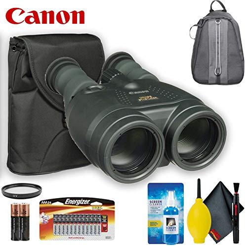 - Canon 15x50 is All-Weather Image Stabilized Binocular Standard Accessory Bundle