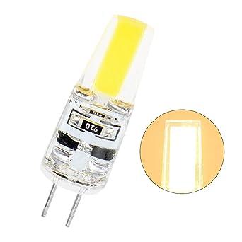 P12cheng - Bombilla LED G4 de 12 V CC, 6 W, ángulo de haz