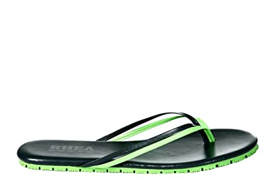 02cc08e85ae168 Rhea Duos Sandals Flip Flops Slip Resistant Two-Tone Color Comfort Double  Strap Sandals (