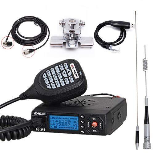 Baojie BJ-218 25W Dual Band VHF/UHF 136-174mhz 400-470mhz 128CH Mini (Ham) Car Mobile Radio Station Transceive (Dual Band Amplifier Vhf Uhf)
