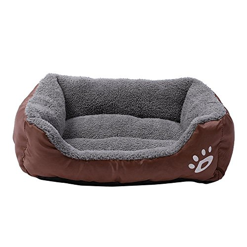 Price comparison product image Smdoxi Orthopedic Dog Couch Sofa Pet Bed for Dogs and Cats (L,  Coffee)