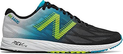 New Balance Mens 1400v6 Running Shoe Blue/Black J1YDd