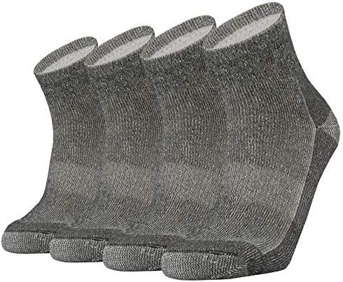 SOX TOWN Merino Wool Moisture Wicking Outdoor Hiking Hiker Cushion Low Cut Socks for Men