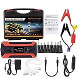 Arrancador de batería para coche, 89800 mAh, portátil, kit de mantenimiento de batería, amplificador, LCD, 4 USB, cargador de batería, banco de energía