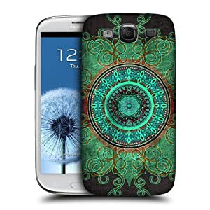 AIYAYA Samsung Case Designs Mandala Arabesque Protective Snap-on Hard Back Case Cover for Samsung Galaxy S3 III I9300