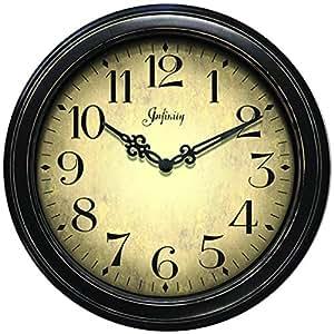 Amazon Com Infinity Instruments Precedent Wall Clock