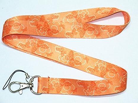 Amazon.com: Llavero con mariposas y cordón para ...