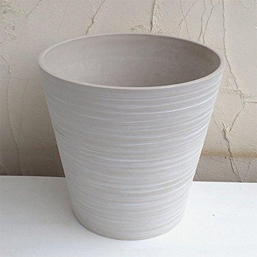 [10号用鉢カバー]エコフレンドリーポット(キャスター付)10号鉢用ホワイト B06XKSP171