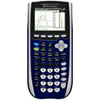 Texas Instruments TI-84 Plus C Silver Edition Graphing Calculator, Dark Blue