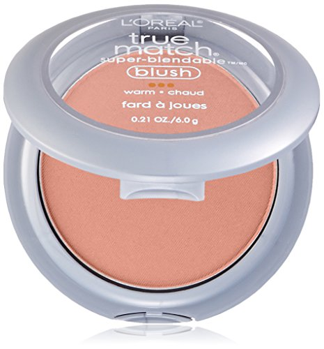 - L'Oréal Paris True Match Super-Blendable Blush, Innocent Flush, 0.21 oz.