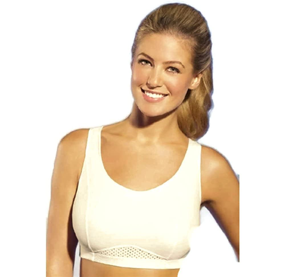 d5496a3e83 Bestform Crosstrainer Criss-Cross Back Support No Wire Sports Bra Style  6092 at Amazon Women s Clothing store