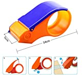 NOVICZ Plastic Packaging Tape Cutter Roll Dispenser (Up to 2 inch Tape)