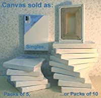 Art Alternatives 6 x 6 inch Pre-Stretched Studio Canvas (One Single Canvas)
