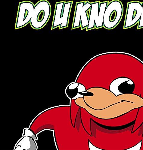 Qraphic Tee Ugandan Knuckles t-Shirt, Meme t-Shirt, Funny Shirt, Do You Know The Way t-Shirt