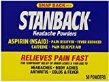 Stanback Headache Powder Size 50ct Stanback Headache Powder 50ct