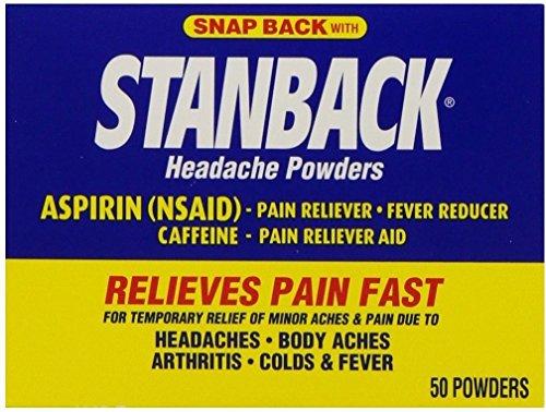 Stanback Headache Powder Size 50ct Stanback Headache Powder 50ct by Stanback