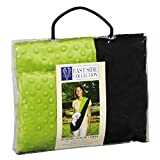 East Side Collection Reversible Sling Pet Carriers — Brightly Colored Polyester Over-the-Shoulder Carriers for Small Dogs, Black and Green