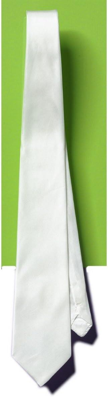 PINTURA sobre seda – corbata de seda blanca de paleta – 142 x 9,5 ...
