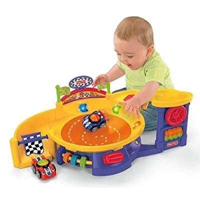 Fisher-Price Lil' Zoomers Spinnin' Sounds Speedway: Toys & Games