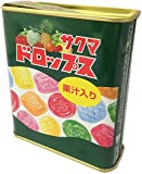 サクマ製菓 S15缶ドロップス 80g×10個