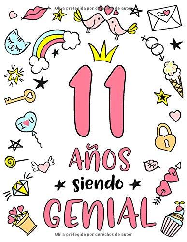 Amazon.com: 11 Años Siendo Genial: Regalo de Cumpleaños 11 ...