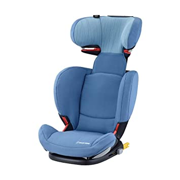 36ed19f9ee8 Maxi-Cosi RodiFix AirProtect Child Car Seat, ISOFIX Booster Seat, Extra  Protection, 3.5-12 Years, 15-36 kg, Frequency Blue: Amazon.co.uk: Baby