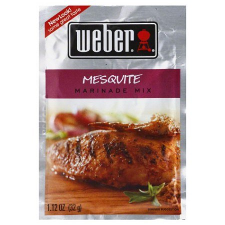 Weber Mesquite Wood (Weber Mesquite Marinade Mix, 1.12 oz (Pack of 5))