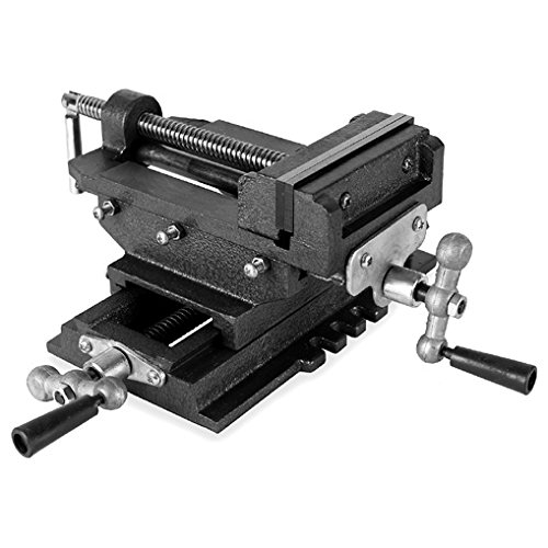 Eberth 2 Axles Cross Vice for Column Drill 100 mm