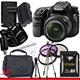 Sony Alpha SLT-A58K SLT-A58 DSLR Digital Camera with 18-55mm Lens 16GB Package 2