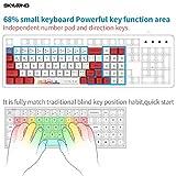 SKYLOONG GK71 71 Keys Mechanical Gaming Keyboard