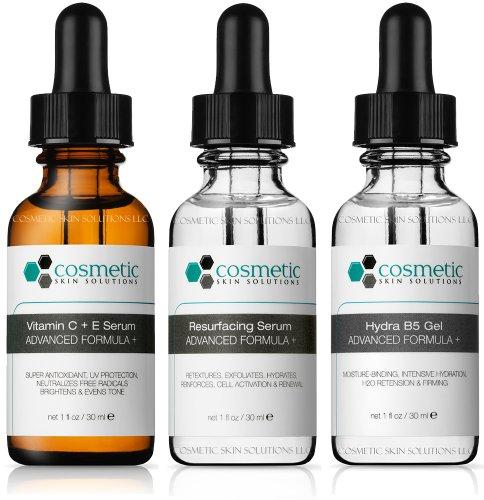 Cosmetic Skin Solutions Vitamin C+E Serum + Resurface ser...