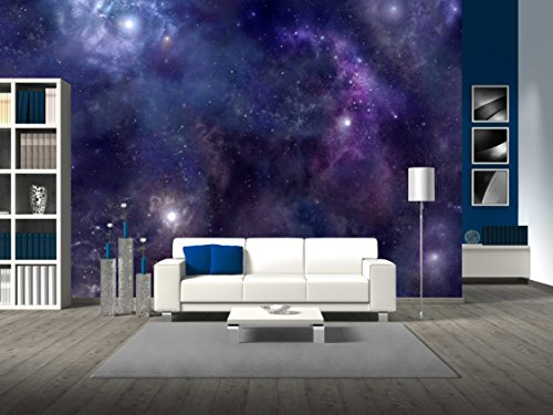 Deep Space wide background website header