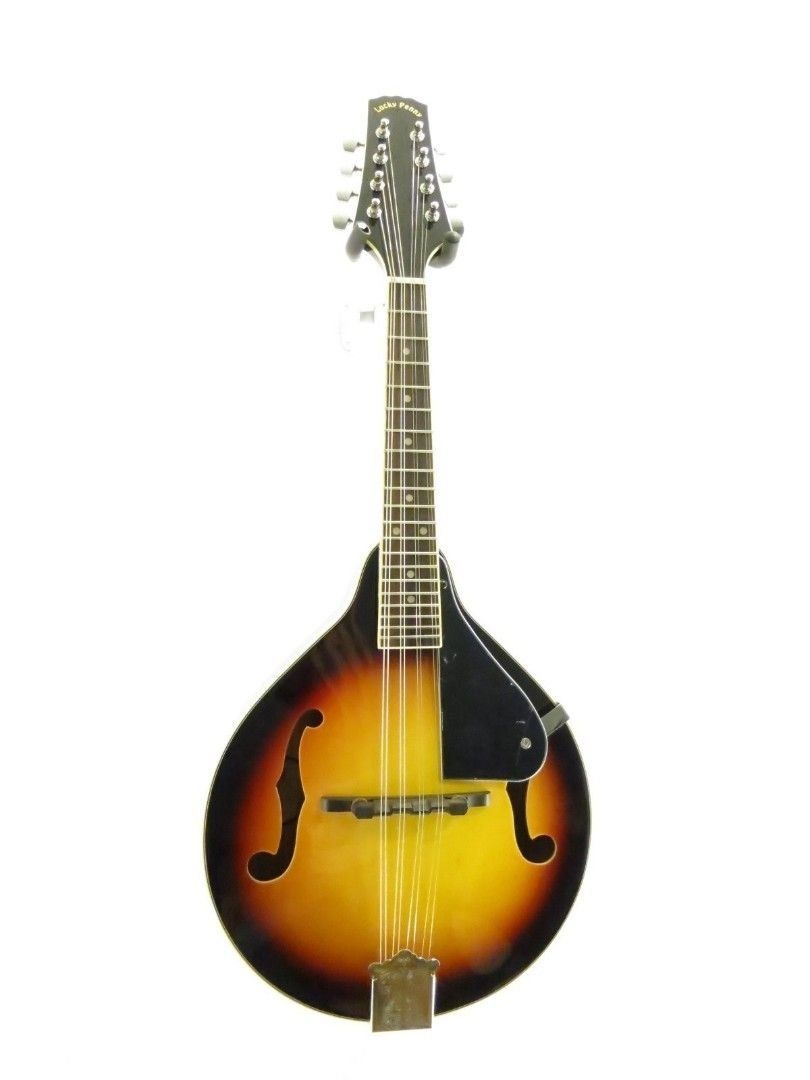 Lucky Penny A-Style Acoustic Bluegrass Mandolin in a Violinburst FInish