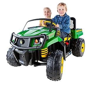 Amazon Com Peg Perego John Deere Gator Xuv Green Toys