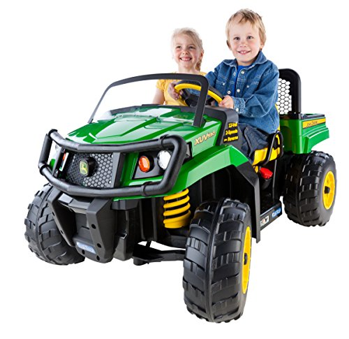 Peg Perego John Deere Gator XUV, Green (Power Wheels Tractor compare prices)