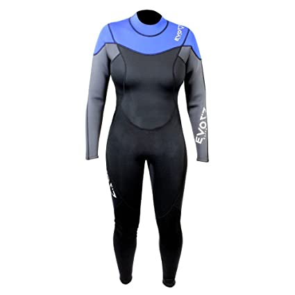 7dd1ebad3b Image Unavailable. Image not available for. Color  EVO Elite 3mm Full Scuba  Wetsuit (Women s) ...