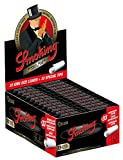 48 Smoking Brand Deluxe With TIPS Ultra Fine King Size Cigarette Rolling Papers Packs (33 Leaves and 33 Tips/Pack) + Beamer Smoke Sticker. 4 Legal Smoking Herbs, Tobacco, Cones, Herbal Mixes, Rollers