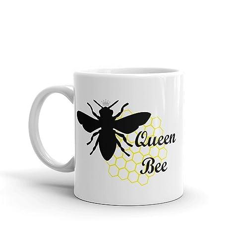 Monogram Queen Bee Mug