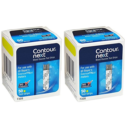 Contour Next Bayer Blood Glucose Strips product image