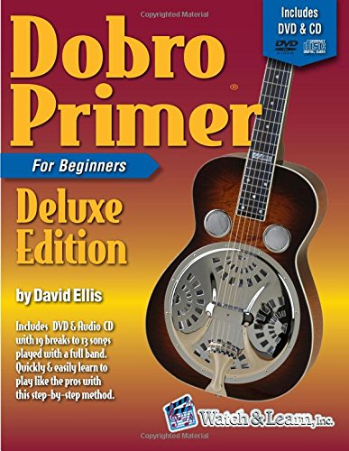 Dobro Primer Book For Beginners Deluxe Edition with DVD & CD