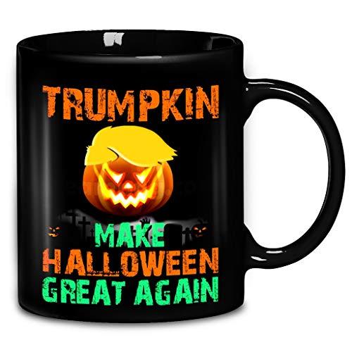 Donald Trump Trumpkin Make Halloween Great Again Coffee Mug 11oz & 15oz Ceramic Tea Cups