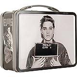 Elvis Presley Mug Shot Embossed Retro Metal Lunch Box