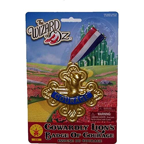 Wizard of Oz Cowardly Lion-Badge of Courage, 75th Anniversary Edition ()