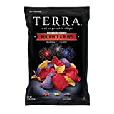 TERRA CHIPS, CHIPS, RED WHITE N BLUES - Pack of 12
